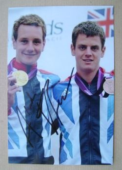 Alistair Brownlee autograph