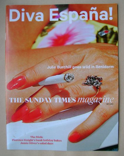<!--2015-05-24-->The Sunday Times magazine - Diva Espana! cover (24 May 201