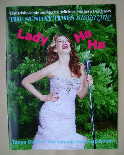 <!--2015-03-15-->The Sunday Times magazine - Katherine Ryan cover (15 March