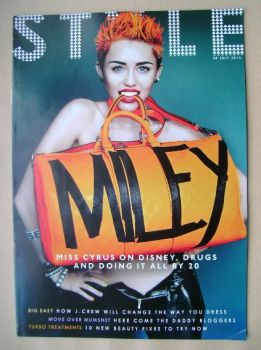 Style magazine - Miley Cyrus cover (28 July 2013)