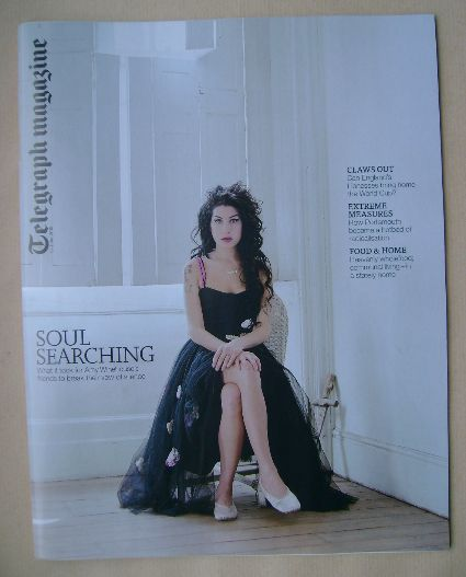 <!--2015-06-13-->Telegraph magazine - Amy Winehouse cover (13 June 2015)