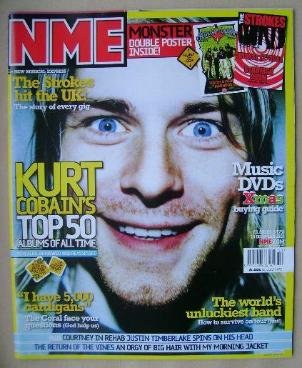 <!--2003-12-13-->NME magazine - Kurt Cobain cover (13 December 2003)