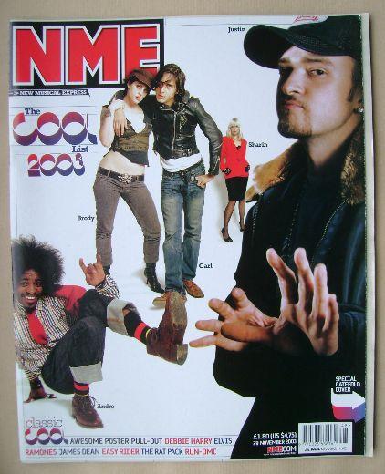<!--2003-11-29-->NME magazine - 29 November 2003