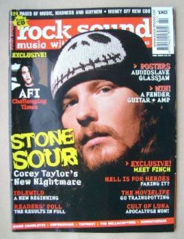 Rock Sound magazine - Corey Taylor cover (February 2003)