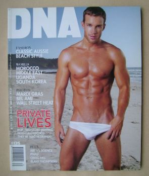 DNA magazine - Ryan Burke cover (April 2011 - Issue 135)