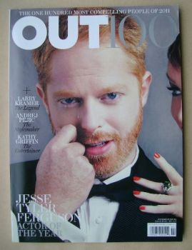 Out magazine - Jesse Tyler Ferguson cover (December 2011 & January 2012)