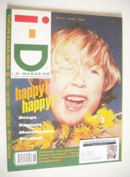 i-D magazine - Jas cover (June 1990)