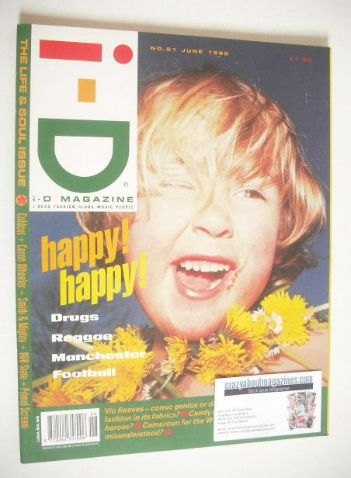 <!--1990-06-->i-D magazine - Jas cover (June 1990)