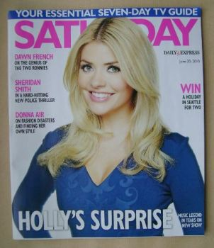 Saturday magazine - Holly Willoughby cover (20 June 2015)