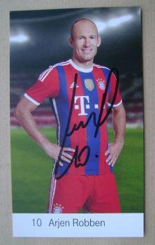 Arjen Robben autograph
