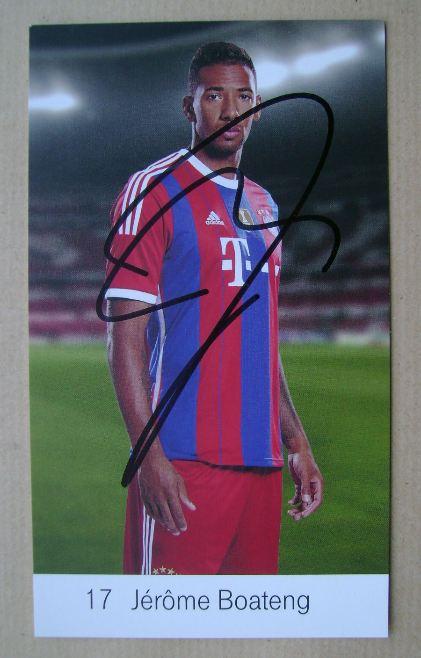 Jerome Boateng autograph