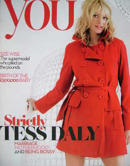 <!--2008-03-23-->You magazine - Tess Daly cover (23 March 2008)