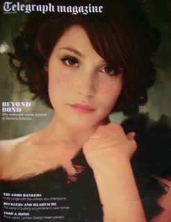 <!--2010-03-20-->Telegraph magazine - Gemma Arterton cover (20 March 2010)