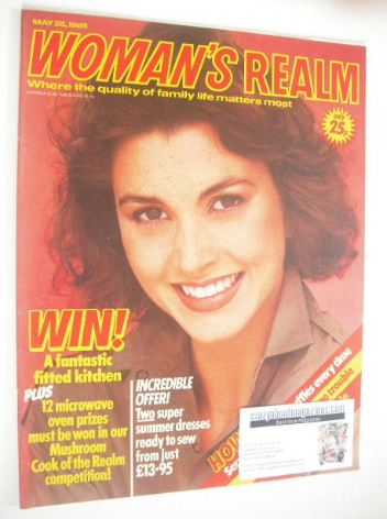<!--1985-05-25-->Woman's Realm magazine (25 May 1985)