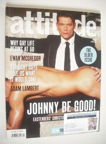 <!--2010-04-->Attitude magazine - Johnny Partridge cover (April 2010)