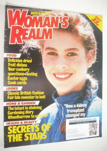 <!--1989-03-21-->Woman's Realm magazine (21 March 1989)