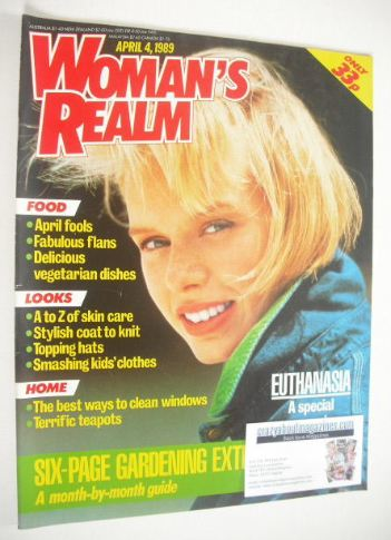<!--1989-04-04-->Woman's Realm magazine (4 April 1989)
