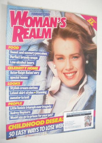 <!--1989-02-07-->Woman's Realm magazine (7 February 1989)