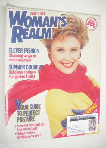 <!--1988-06-04-->Woman's Realm magazine (4 June 1988)