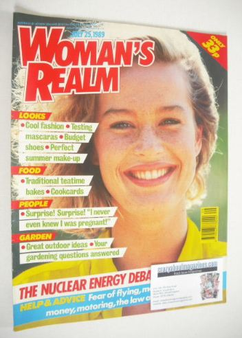 <!--1989-07-25-->Woman's Realm magazine (25 July 1989)