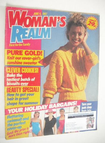 <!--1987-06-06-->Woman's Realm magazine (6 June 1987)