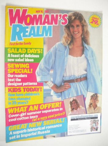 <!--1987-05-16-->Woman's Realm magazine (16 May 1987)