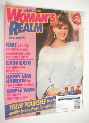<!--1987-08-22-->Woman's Realm magazine (22 August 1987)