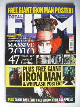 Total Film magazine - Johnny Depp cover (March 2010)