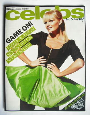 <!--2010-03-14-->Celebs magazine - Emma Bunton cover (14 March 2010)
