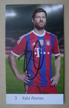 Xabi Alonso autograph