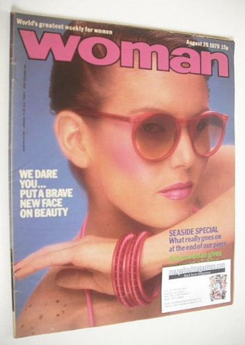 <!--1979-08-25-->Woman magazine - Joan Collins cover (25 August 1979)