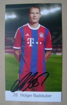 Holger Badstuber autograph