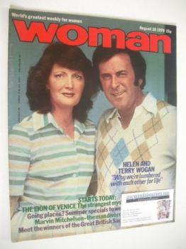 Woman magazine - Helen and Terry Wogan cover (18 August 1979)
