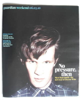The Guardian Weekend magazine - 6 March 2010 - Matt Smith cover