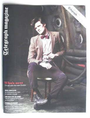 <!--2010-03-13-->Telegraph magazine - Matt Smith cover (13 March 2010)