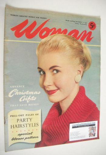 <!--1957-11-09-->Woman magazine (9 November 1957)