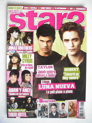 Star2 magazine - Robert Pattinson and Taylor Lautner cover (2009)