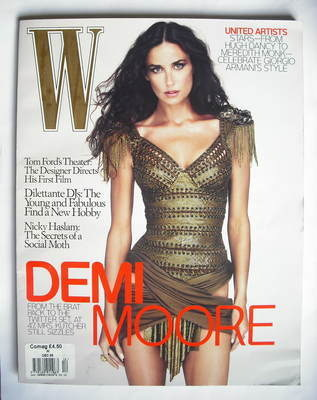 <!--2009-12-->W magazine - December 2009 - Demi Moore cover