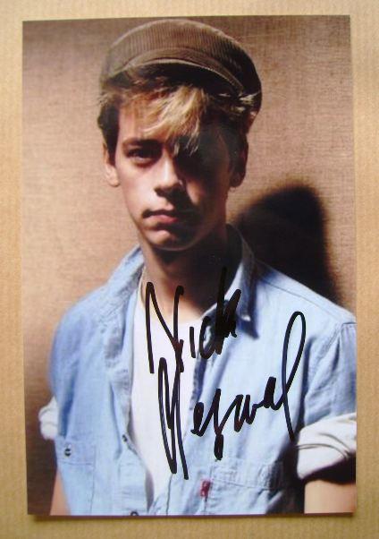Nick Heyward autograph