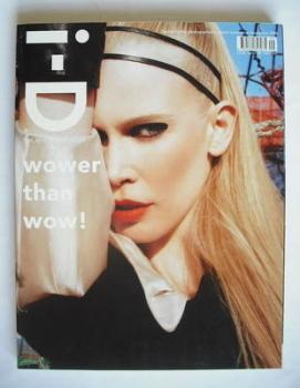 i-D magazine - Claudia Schiffer cover (September 2006)