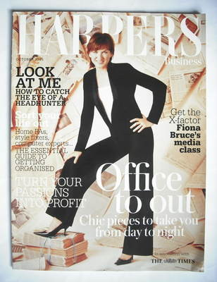 Harpers & Queen supplement - Office To Out cover (October 2005 - Fiona Bruc