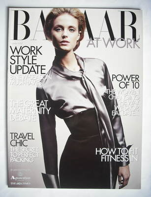 Harper's Bazaar supplement - Bazaar At Work (October 2008)
