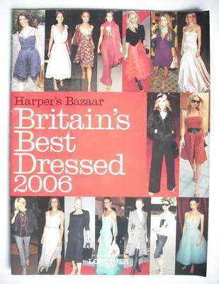 Harper's Bazaar supplement - Britain's Best Dressed 2006