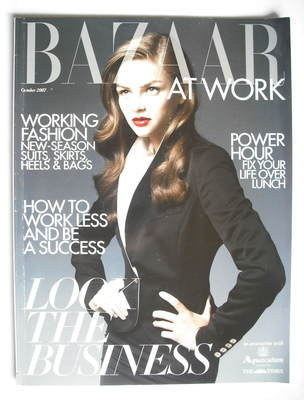 Harper's Bazaar supplement - At Work (October 2007)