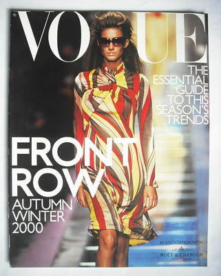 British Vogue supplement - Front Row (Autumn/Winter 2000 - Gisele Bundchen