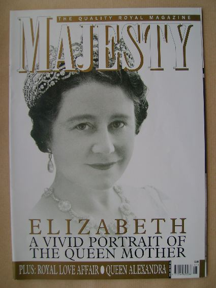 <!--2005-11-->Majesty magazine - The Queen Mother cover (November 2005 - Vo