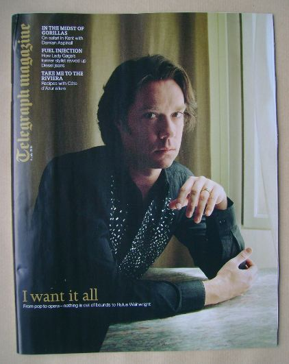 <!--2015-07-04-->Telegraph magazine - Rufus Wainwright cover (4 July 2015)