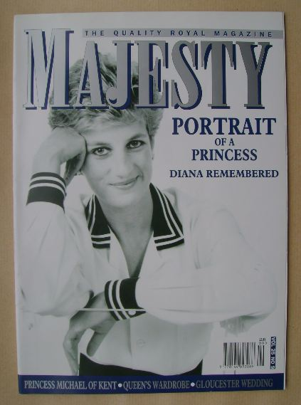 <!--2004-09-->Majesty magazine - Princess Diana cover (September 2004 - Vol