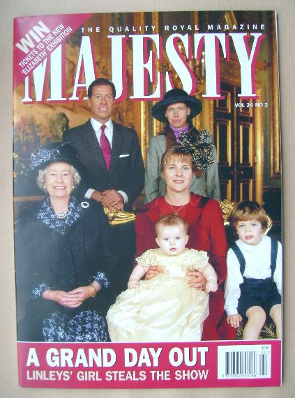 <!--2003-02-->Majesty magazine - February 2003 (Volume 24 No 2)