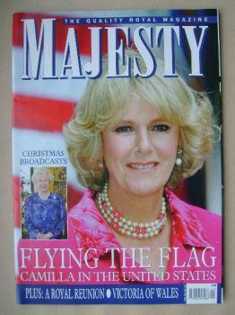 Majesty magazine - Camilla Parker Bowles cover (December 2005 - Volume 26 No 12)
